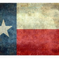 Vintage Texas Flag from the american flag series Fine Art Prints by Bruce Stanfield | Nuvango