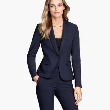 Fitted Blazer - from H&M