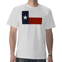 Texas Flag T-shirt from Zazzle.com