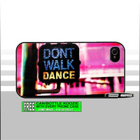 iPhone 5, 4/4s - Galaxy S3 Phone Case - Don't Walk - Dance