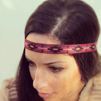 Hippie Headband- bohemian headbands hairstyles