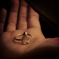 little Buddha ring