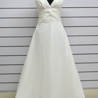 Custom make a-line Wedding Dress Bridal Gown Bridesmaid Dress Evening Prom Dress