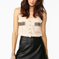 Studded Pocket Tank