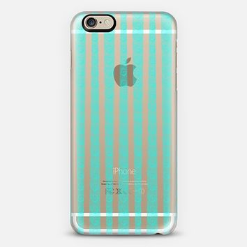 Thinly Veiled (Teal) iPhone 6 case by Lyle Hatch | Casetify