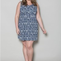 Plus Size Dresses | Whitney Jersey Dress | Swakdesigns.com