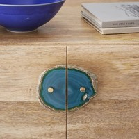 Agate Cabinet Handle Set - Green