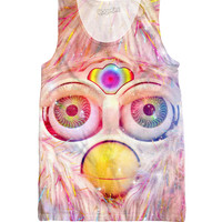 Furby Trips Face Tank Top