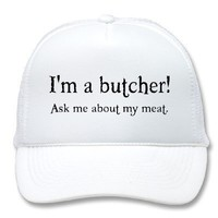 Butcher Hat from Zazzle.com