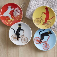 Cat Cruiser Plates (set of 4)