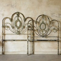 One of a Kind Vintage Twin Bed Wrought Iron