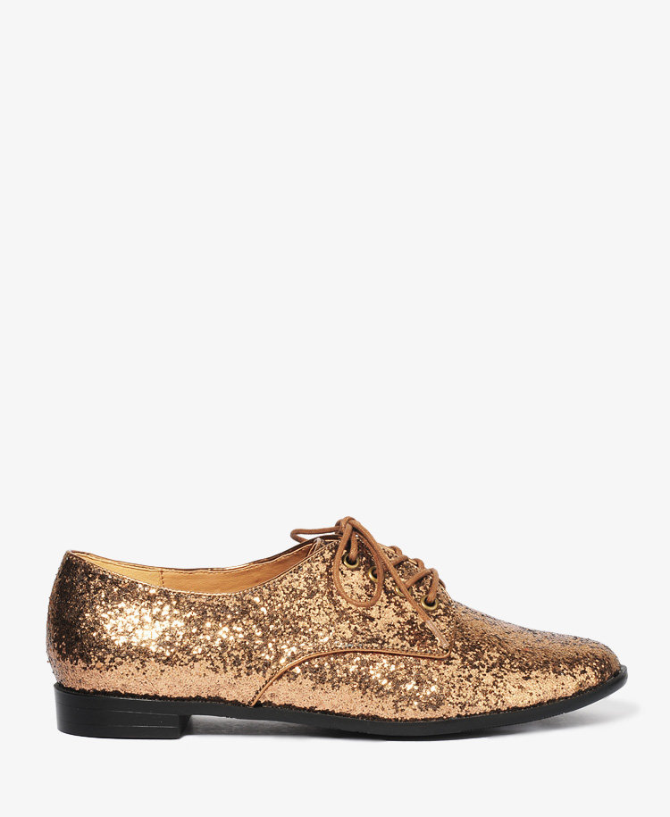 Glittered Oxfords