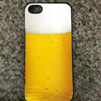 iPhone 5 Custom Beer Hard iPhone Case