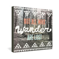 DENY Designs Home Accessories | Wesley Bird Wander Gallery Wrapped Canvas