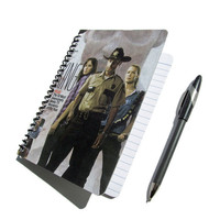 Walking Dead UpCycled Notebook Journal Rick Grimes Zombies Horror