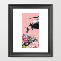The Conquest of Nature Framed Art Print by Eugenia Loli