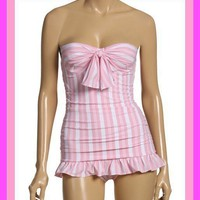 Juicy Couture NWT Sweet Treats UW Ruffle Swimsuit sz L - Warwick