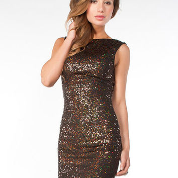 Scoop Back Sequin Tank Dress | Sexy Clothes Womens Sexy Dresses Sexy Clubwear Sexy Swimwear | Flirt Catalog