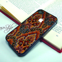 iPhone 4 case, iPhone 4s case, case for iPhone 4, Carpet 002. Black or white.Includes a screen protector for free