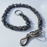 Wallet Chain - Byzantine Variant Chain Maille - Aluminium