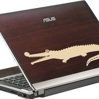 crocodile decal for laptop by decorationwall on Etsy