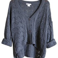 Cozy Autumn Over-sized Sweater, Charcoal