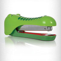 Green Alligator Office Stapler