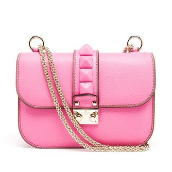 Leather Rockstud Bag - VALENTINO