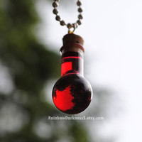 Health Potion Vial by rainbowdarknesss on Etsy