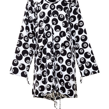 Silk 8-Ball Parka - JEREMY SCOTT