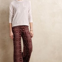 Tiled Palazzo Pants by Onzie Wine