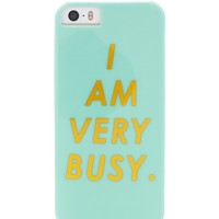 I Am Very Busy iPhone 5/5s Case