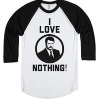 Ron Swanson Love Nothing