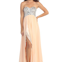 Sweetheart Beaded Gown