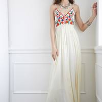 Raga LA Embroidered Maxi Dress