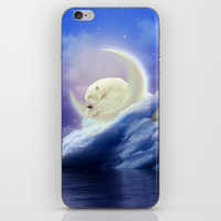 Guard Your Heart. Protect Your Dreams. (Polar Moon) iPhone & iPod Skin by Soaring Anchor Designs