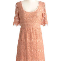 Peach Perfection Dress | Mod Retro Vintage Dresses | ModCloth.com