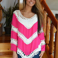 State of Beauty Top in Pink