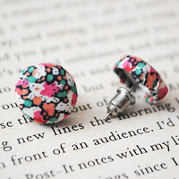 Liberty Of London Button Earrings, .. on Luulla