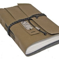 Loden Green Vegan Faux Leather Journal