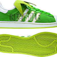KERMIT ADIDAS SHOES!!!