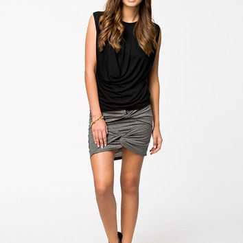 Front Draped Skirt, NLY Trend