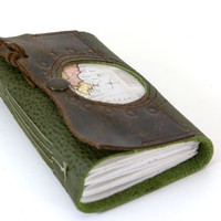 Old World Leather Travel Journal - South America - (sm)