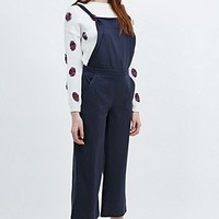 Cooperative Dungaree Jumpsuit in Navy - Urban Outfitters