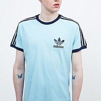 Adidas Sport Ess Tee in Blush Blue - Urban Outfitters
