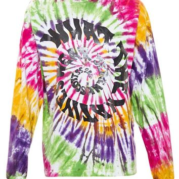 Tie Dye Hooded Sweatshirt - JEREMY SCOTT