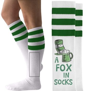 A Fox In Socks