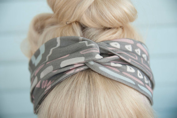 Big Twisted Headband by leahgoren on Etsy