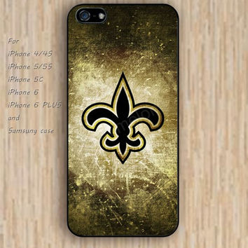 iPhone 6 case colorful new orleans iphone case,ipod case,samsung galaxy case available plastic rubber case waterproof B111