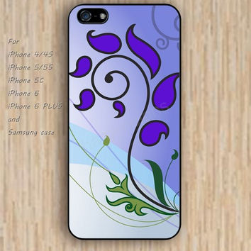 iPhone 6 case colorful violet paint iphone case,ipod case,samsung galaxy case available plastic rubber case waterproof B112